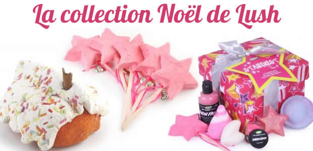 La collection Noël 2011 de chez Lush