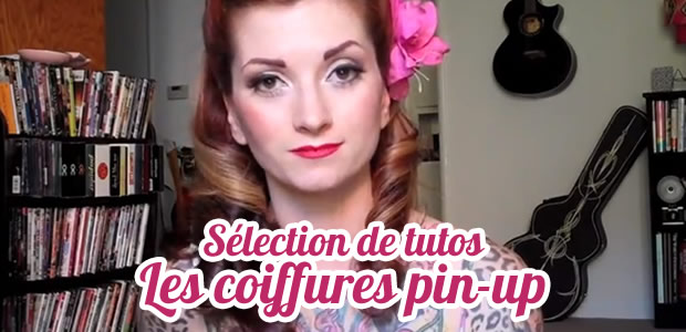 Sélection de tutos de coiffures pin-up