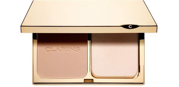 Clarins sort le Teint Compact haute tenue clarins