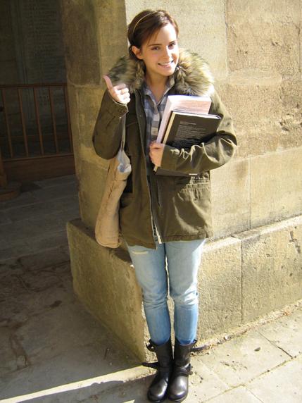 Emma Watson fait sa rentrée à Oxford emma