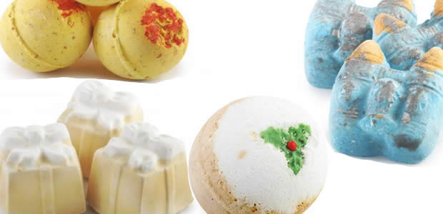 La collection Noël 2011 de chez Lush lushnoel2