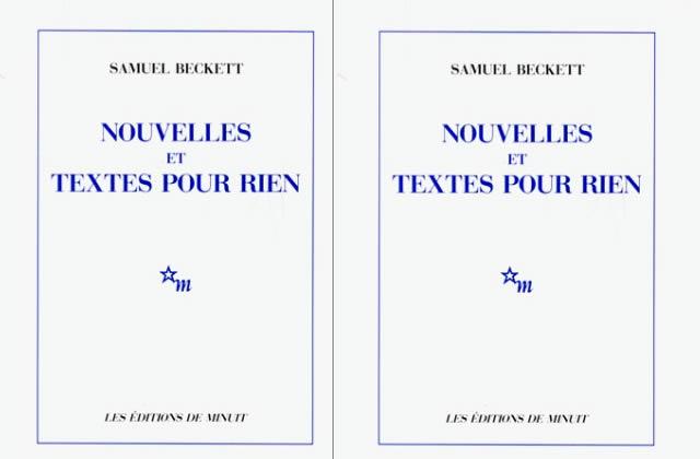 Nouvelles et textes pour rien de Samuel Beckett : A lire ou jamais