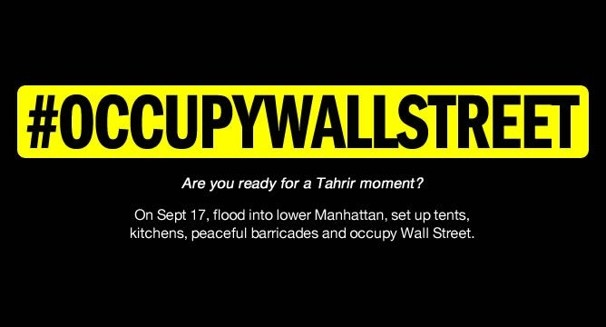 Le mouvement Occupy Wall Street aux Etats Unis occupy wall street