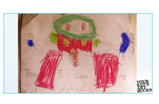 Your Kid's Art Sucks : les dessins des enfants sont moches