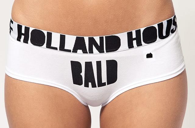 House of Holland : des culottes qui annoncent la couleur