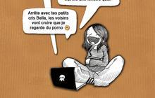 Le dessin de Nepsie #11 : commenter Twilight dans les forums madmoiZelle