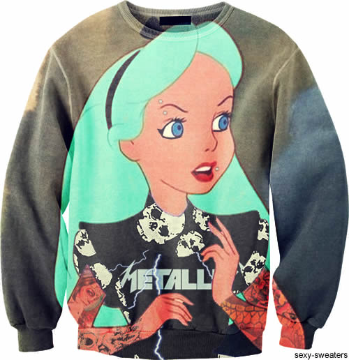 metallica Sexy Sweaters, le Tumblr de la semaine
