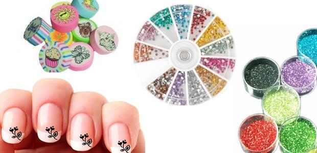 nail art accessoires paillettes