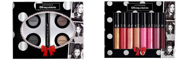 Oh my chérie, la collection maquillage de Noël 2011 chez Sephora sephogloss