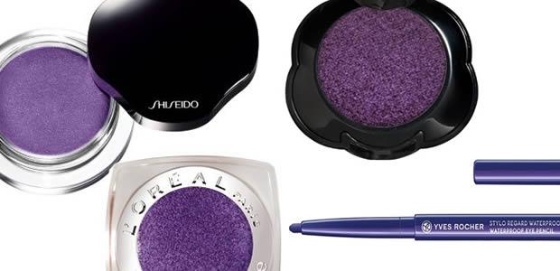 violet2 Comment porter le maquillage violet ?