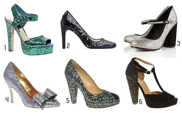 21 Paillettes & sequins   Tendance Chaussures Automne Hiver 2011 2012