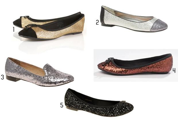 31 Paillettes & sequins   Tendance Chaussures Automne Hiver 2011 2012