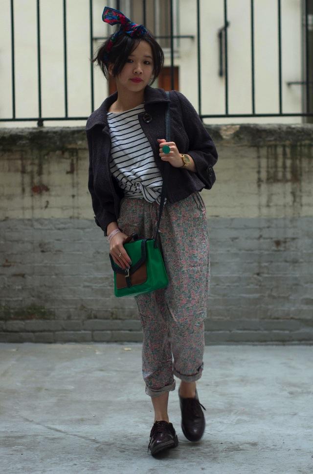 IMGP3884 Comment porter des pantalons de pyjama dans la rue ?
