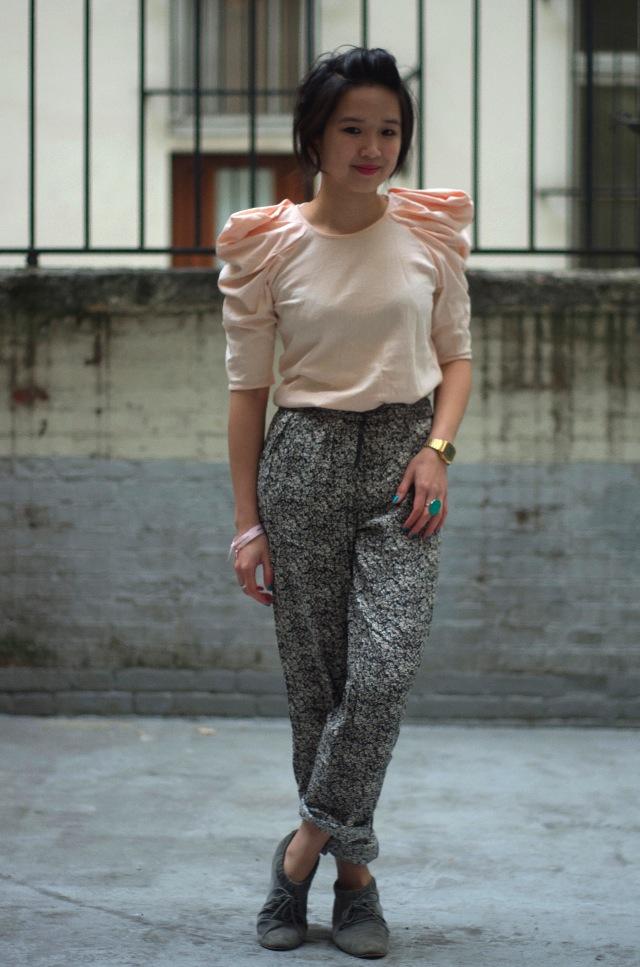 IMGP3894 Comment porter des pantalons de pyjama dans la rue ?