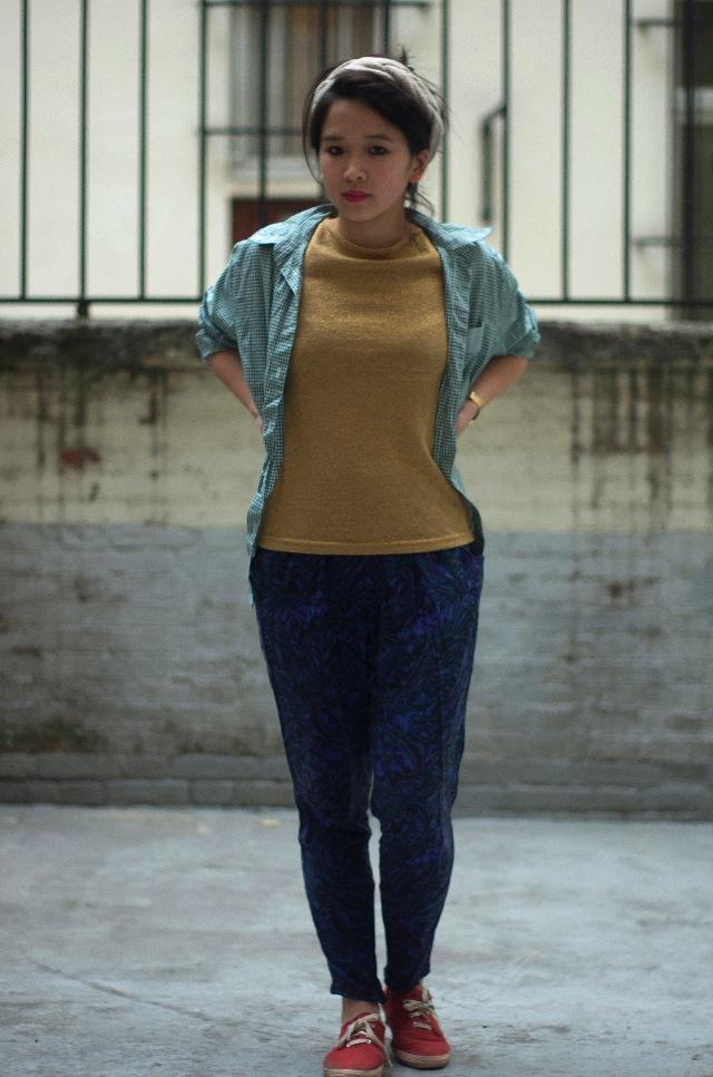 IMGP3916 Comment porter des pantalons de pyjama dans la rue ?