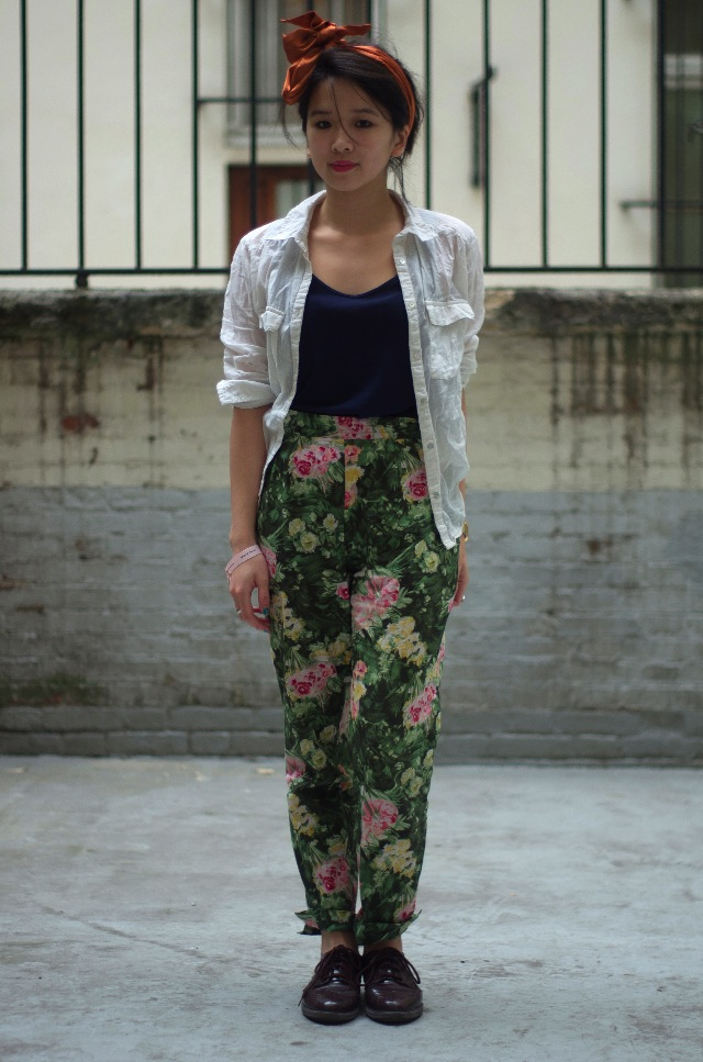 IMGP3943 Comment porter des pantalons de pyjama dans la rue ?