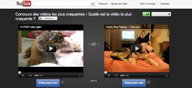 Image 32 YouTube Slam lance des duels de vidéos