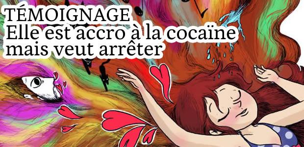 Elle est accro à la cocaïne mais veut arrêter : témoignage