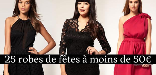 25 robes de fêtes à moins de 50 euros