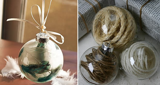 Décoration & DIY de Noël #1 boulestransparentes