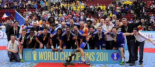 handballfrance1 Les compétitions sportives qui ont marqué 2011