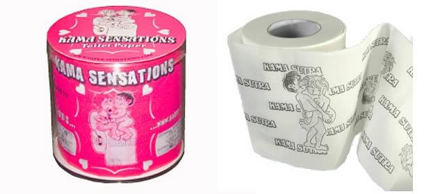 Préférence Le papier toilette Kama-Sutra - Idée Cadeau Pourrie #1 WB61