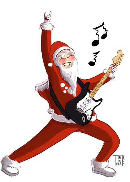 Sélection de 10 chansons pour un Noël rock & funky playlist de noel2