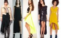 Comment porter les robes et les jupes asymétriques ?