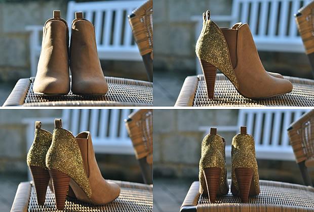 tutochaussurespaillettes1 Sélection de tutos : chaussures à paillettes