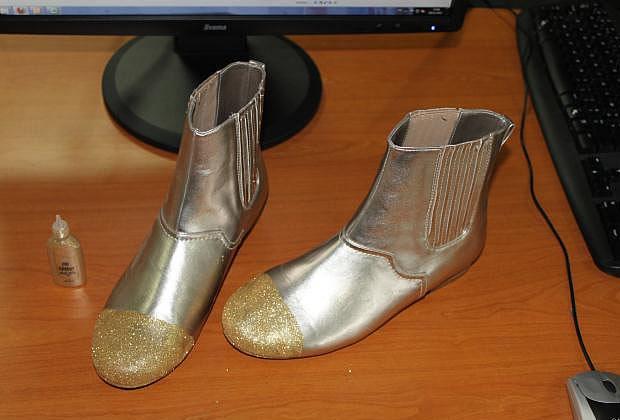 Sélection de tutos : chaussures à paillettes tutochaussurespaillettes3