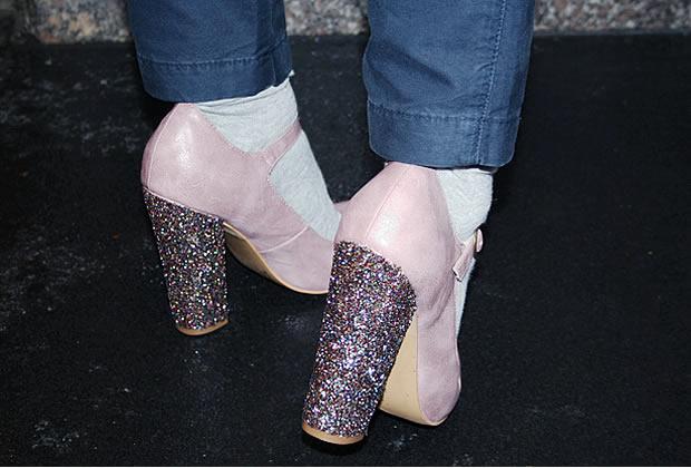Sélection de tutos : chaussures à paillettes tutochaussurespaillettes4
