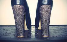 Sélection de tutos : chaussures à paillettes