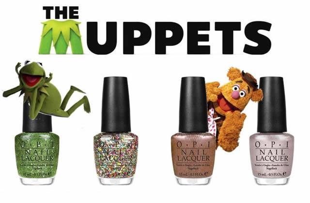 La collection Muppets pour OPI