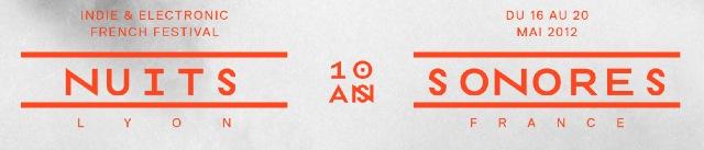 NuitsSonores Nuits Sonores 2012 : une partie de la programmation annoncée