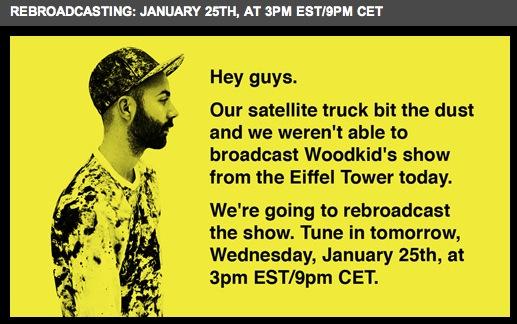 WoodkidNoisey Le concert de Woodkid retransmis ce soir sur Noisey