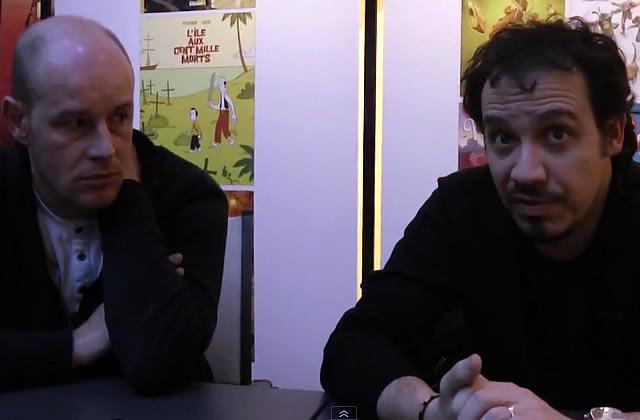 Alexandre Astier en interview avec Steven Dupré (Kaamelott, la BD)