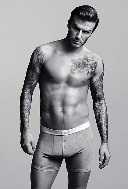 David Beckham : sa collection de slips pour H&M beckhamhm1
