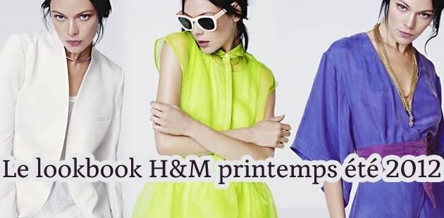 H&M Printemps Été 2012 : le lookbook