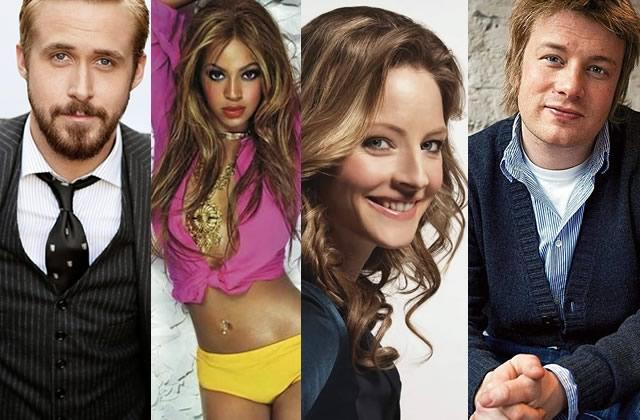 Les célébrités que j'aimerais avoir pour potes