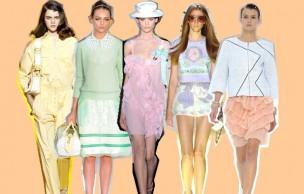 Lien permanent vers Le look pastel : tendance Printemps Été 2012