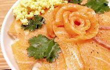 Recette du chirashi de saumon