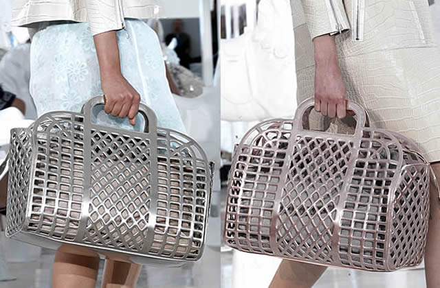 Sacs 2012 : Vuitton plonge dans la niche des cabas de mémés