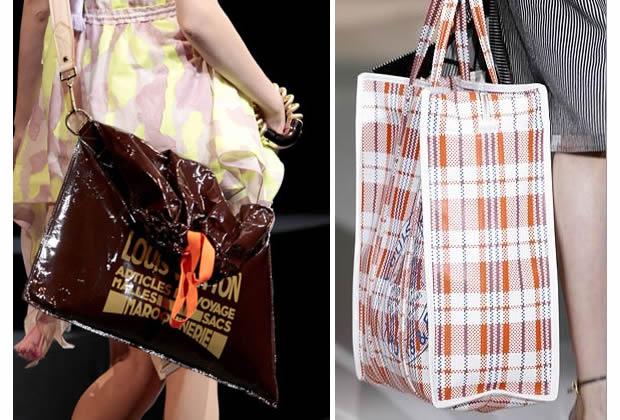 Sacs 2012 : Vuitton plonge dans la niche des cabas de mémés sacs raindrop barbès vuitton