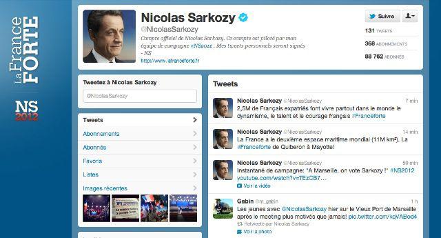 Twitter : 5 comptes parodiant Nicolas Sarkozy sont fermés Sarkozy