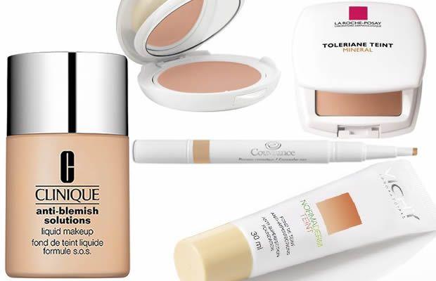 Comment maquiller une peau acnéique ? acne