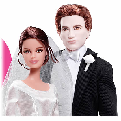 Des Barbies Kate Middleton et Prince William bella edward twilight barbie