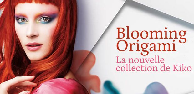Blooming Origami, la collection printemps 2012 de Kiko