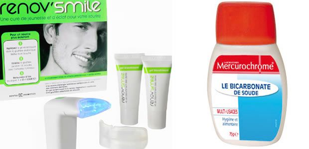 selection produit kit blanchiment des dents