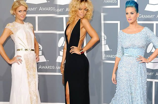 Grammy Awards 2012 : toutes les tenues du red carpet