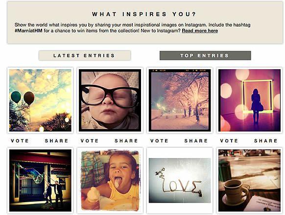 hmconcoursinstagram H&M organise un concours sur Instagram